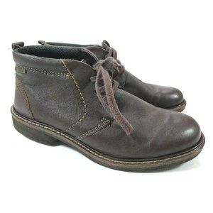 ECCO Mens Turn Gore-TEX Tie Chukka Boot Size 39 US